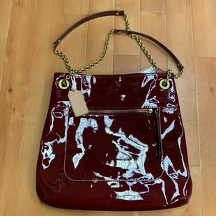 Primary Photo - BRAND: COACH STYLE: HANDBAG DESIGNER COLOR: RED SIZE: LARGE OTHER INFO: PATENT LEATHER- SLIGHT MARKINGS ON BAG SKU: 257-25774-15447