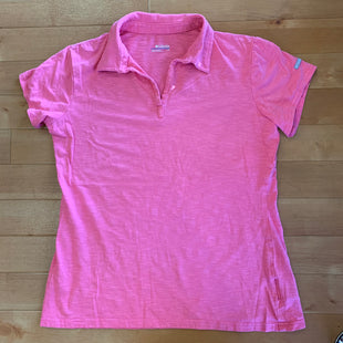 Primary Photo - BRAND: COLUMBIA STYLE: ATHLETIC TOP COLOR: PINK SIZE: L SKU: 257-25774-14689