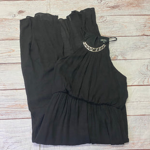 Primary Photo - BRAND: LILA ROSE STYLE: DRESS LONG SLEEVELESS COLOR: BLACK SIZE: XL OTHER INFO: SILVER ACCENT PIECE SKU: 257-25797-834