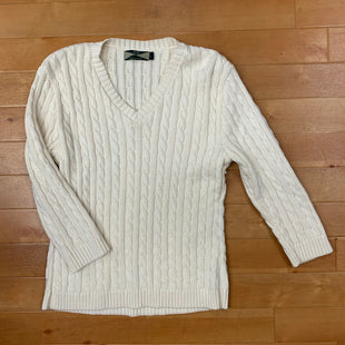 Primary Photo - BRAND: 525 AMERICA STYLE: SWEATER HEAVYWEIGHT COLOR: CREAM SIZE: L SKU: 257-257183-470