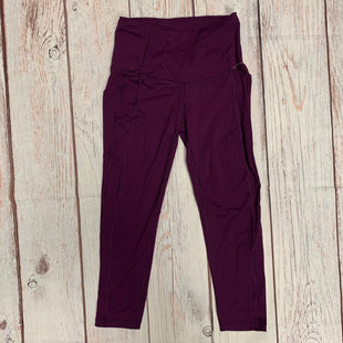 Primary Photo - BRAND: VICTORIAS SECRET STYLE: ATHLETIC CAPRIS COLOR: PURPLE SIZE: S OTHER INFO: SIDE POCKETS SKU: 257-257108-36