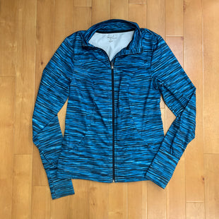 Primary Photo - BRAND: KIM ROGERS STYLE: ATHLETIC JACKET COLOR: AQUA SIZE: M SKU: 257-257183-1310