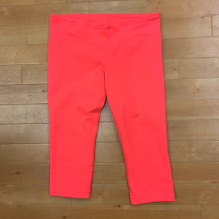 Primary Photo - BRAND: UNDER ARMOUR STYLE: ATHLETIC CAPRIS COLOR: NEON SIZE: L OTHER INFO: NEON PINK SKU: 257-257183-2495