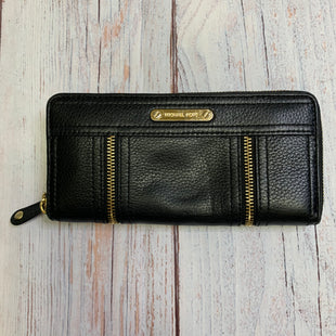 Primary Photo - BRAND: MICHAEL BY MICHAEL KORS STYLE: WALLET COLOR: BLACK SIZE: SMALL OTHER INFO: NEW! OUTER ZIPPERS SKU: 257-257103-171