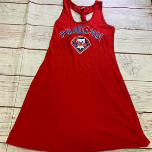Primary Photo - BRAND: MLBSTYLE: DRESS SHORT SLEEVELESS COLOR: RED SIZE: S OTHER INFO: MLB - PHILLIES SKU: 257-257194-2156