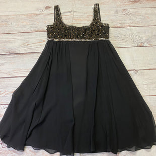 Primary Photo - BRAND:    CLOTHES MENTOR STYLE: DRESS SHORT SLEEVELESS COLOR: BLACK SIZE: M OTHER INFO: MARCHESA - JEWELED TOP SKU: 257-257194-2204