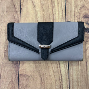 Primary Photo - BRAND: NINE WEST STYLE: WALLET COLOR: GREY SIZE: LARGE OTHER INFO: BLACK TRIMS-SLIGHT STAINS SKU: 257-25786-5651