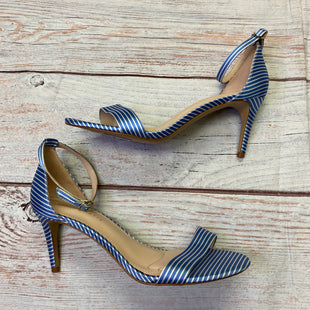 Primary Photo - BRAND: KELLY AND KATIE STYLE: SHOES HIGH HEEL COLOR: BLUE WHITE SIZE: 9 SKU: 257-25781-4757