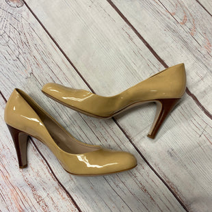 Primary Photo - BRAND: FERRAGAMO STYLE: SHOES HIGH HEEL COLOR: NUDE SIZE: 10 SKU: 217-217144-1345
