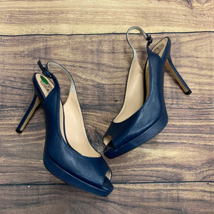 Primary Photo - BRAND: VINCE CAMUTO STYLE: SHOES HIGH HEEL COLOR: NAVY SIZE: 6.5 SKU: 257-257101-39