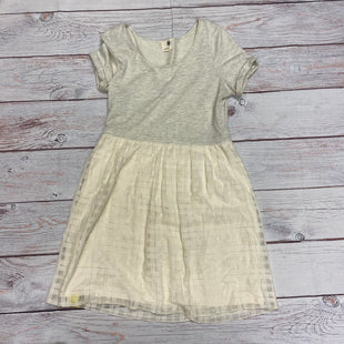 Primary Photo - BRAND: EVERLEIGHSTYLE: DRESS SHORT SHORT SLEEVE COLOR: CREAM SIZE: L OTHER INFO: EVERLEIGH - SKU: 257-25781-4582