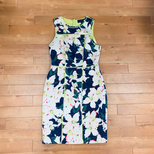 Primary Photo - BRAND: J CREW STYLE: DRESS SHORT SLEEVELESS COLOR: MULTI SIZE: S OTHER INFO: BLUE/CREAM/NEON GREEN SKU: 257-25774-12376