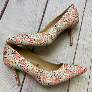 Primary Photo - BRAND: OLD NAVY STYLE: SHOES HIGH HEEL COLOR: FLORAL SIZE: 9 SKU: 178-17822-49262