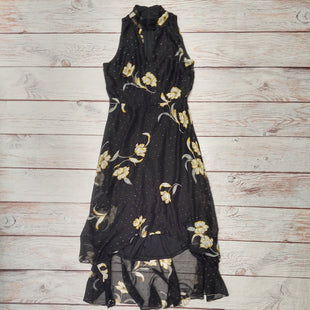 Primary Photo - BRAND: WHITE HOUSE BLACK MARKET STYLE: DRESS LONG SLEEVELESS COLOR: BLACK SIZE: 8 OTHER INFO: YELLOW FLOWERS SKU: 257-25758-1138