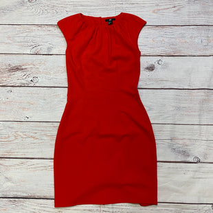 Primary Photo - BRAND: H&M STYLE: DRESS LONG SLEEVELESS COLOR: RED SIZE: S OTHER INFO: ZIPPER WIH KEYHOLE BUTTON, CREW NECK COLLAR SKU: 257-257108-8