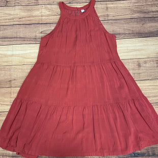 Primary Photo - BRAND: OLD NAVY STYLE: DRESS SHORT SLEEVELESS COLOR: SALMON SIZE: L SKU: 257-25758-1058