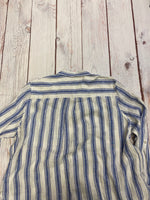 Photo #3 - BRAND: TAHARI <BR>STYLE: BLOUSE <BR>COLOR: STRIPED <BR>SIZE: 3X <BR>OTHER INFO: BLUE AND WHITE STRIPED <BR>SKU: 257-257194-336