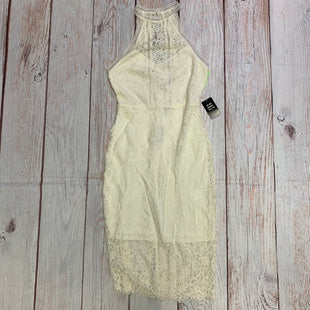 Primary Photo - BRAND: EXPRESS STYLE: DRESS SHORT LONG SLEEVE COLOR: CREAM SIZE: M OTHER INFO: NEW! SKU: 257-257183-218
