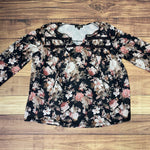 Primary Photo - BRAND: SUZANNE BETRO <BR>STYLE: TOP LONG SLEEVE <BR>COLOR: FLORAL <BR>SIZE: 2X <BR>SKU: 257-257194-580