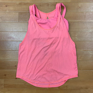 Primary Photo - BRAND: LULULEMON STYLE: ATHLETIC TANK TOP COLOR: CORAL SIZE: M OTHER INFO: BUILT IN BRA SKU: 257-257183-1724
