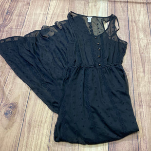 Primary Photo - BRAND: FOREVER 21 STYLE: DRESS LONG SLEEVELESS COLOR: BLACK SIZE: M SKU: 257-25797-410
