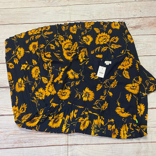 Primary Photo - BRAND: J CREW STYLE: DRESS LONG SHORT SLEEVE COLOR: NAVY SIZE: XL OTHER INFO: YELLOW FLOWERS ALL OVER NWT SKU: 257-257103-931