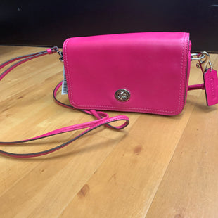 Primary Photo - BRAND: COACH STYLE: HANDBAG DESIGNER COLOR: PINK SIZE: SMALL OTHER INFO: LEGACY PENNY CROSSBODY SKU: 257-257183-1271