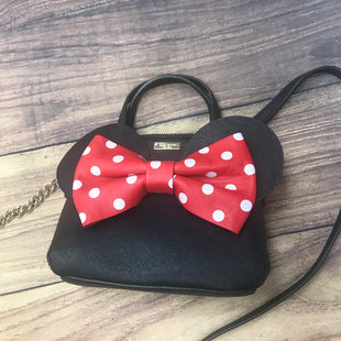 Handbag Designer By Kate Spade  Size: Small - BRAND: KATE SPADE STYLE: HANDBAG DESIGNER COLOR: BLACK RED SIZE: SMALL OTHER INFO: MINNI MOUSE SKU: 257-25774-16130