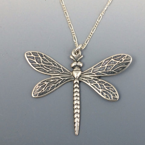 Sterling Silver Dragonfly Necklace