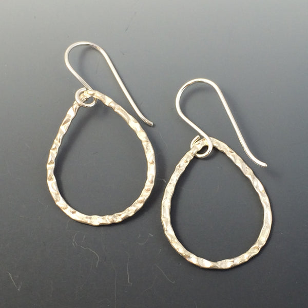 Sterling Silver Tear Drop Earrings