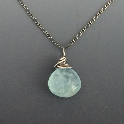 Beautiful Gemstone Drop Necklace - Price varies depending on Stone
