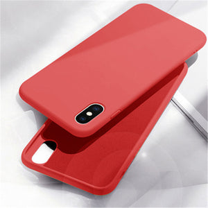 Modern Liquid Silicone Iphone Shockproof Case