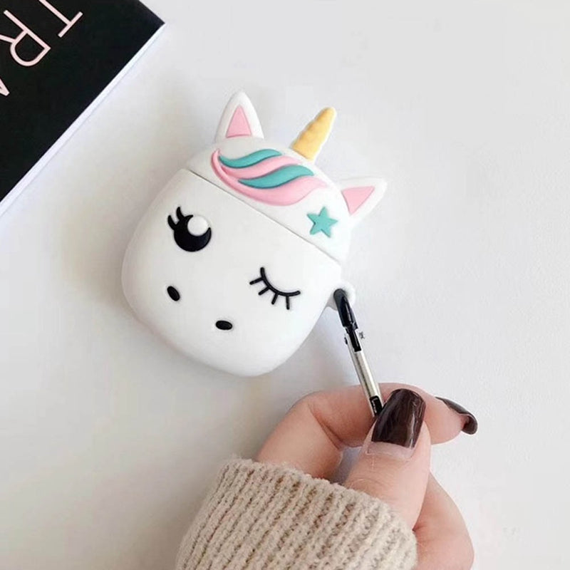 AirPods - 3D Cute unicorn case