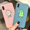Iphone - Cute Cartoon Soft Case