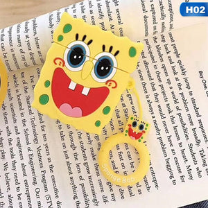 Airpods - Plush Spongebob Silicone Headset Case