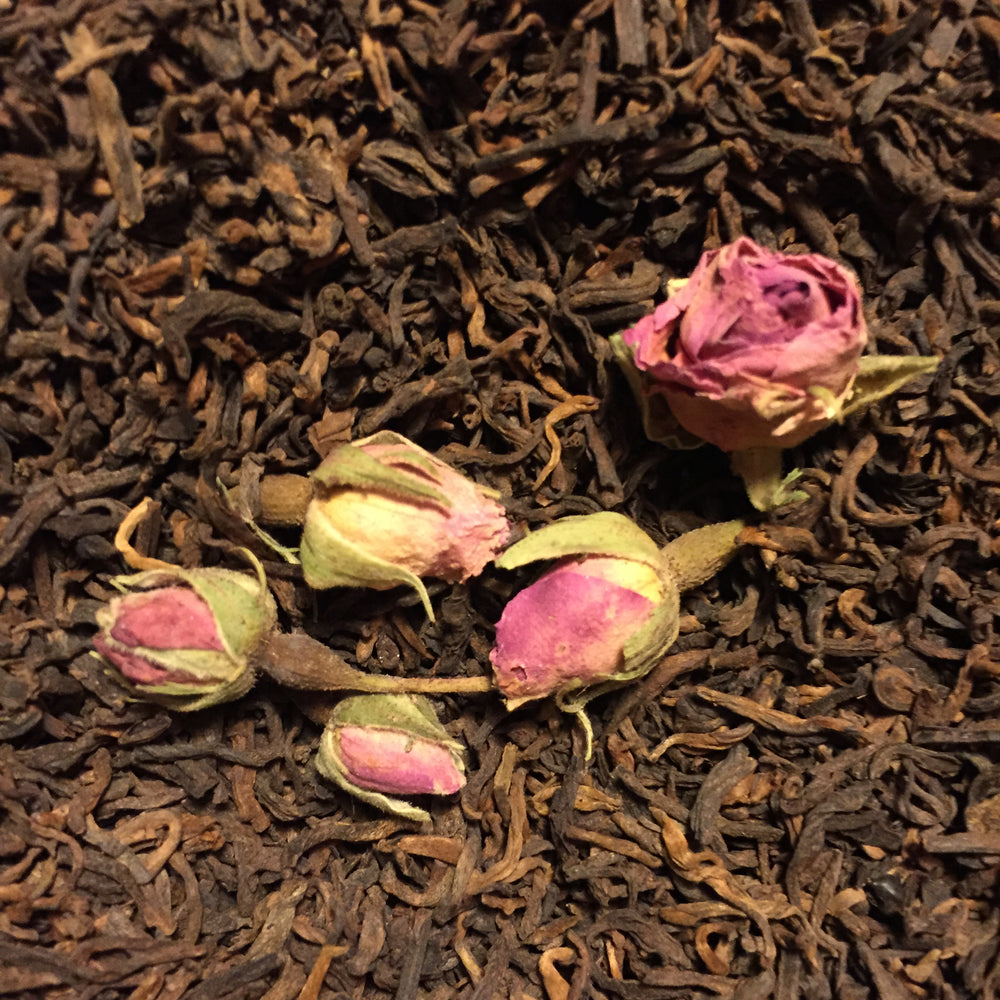 10th Anniversary  (Yun Jian Pu-erh - Wild Red Rose)