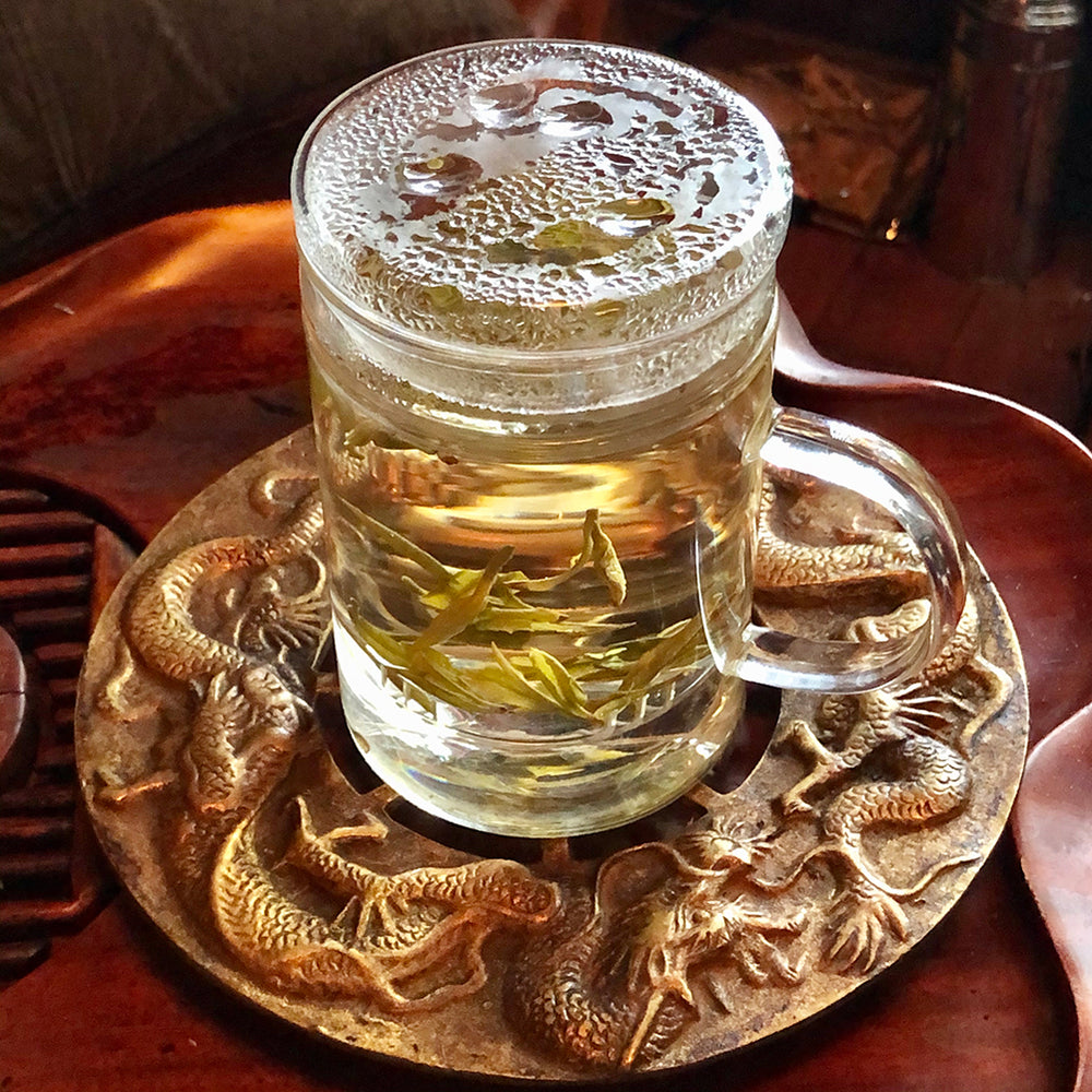 Glass Tea Cup with looseleaf Tea Infuser