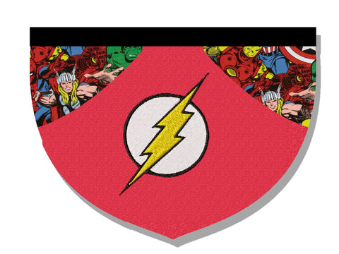 Flash-inspired bandana