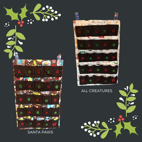 Refillable Reusable Advent Calendars