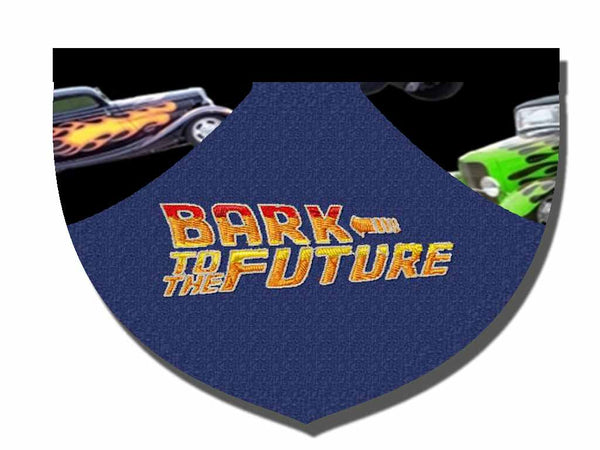 Bark to the Future bandana