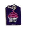 Cupcake Tag Bag medal protector and silencer