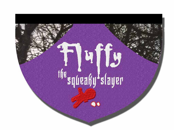 Fluffy the Squeaky Slayer