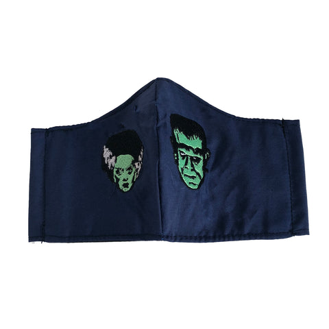 Frankenstein and his Bride mask