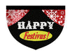 Happy Festivus, Seinfeld-inspired reversible  pet bandana