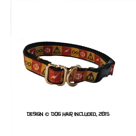 Harry Potter-inspired kitty collar