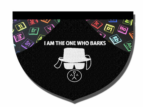 """I am the one who barks"" bandana"