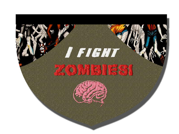I fight zombies!!!