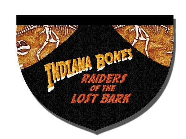 Indiana Bones: Raiders of the Lost Bark bandana