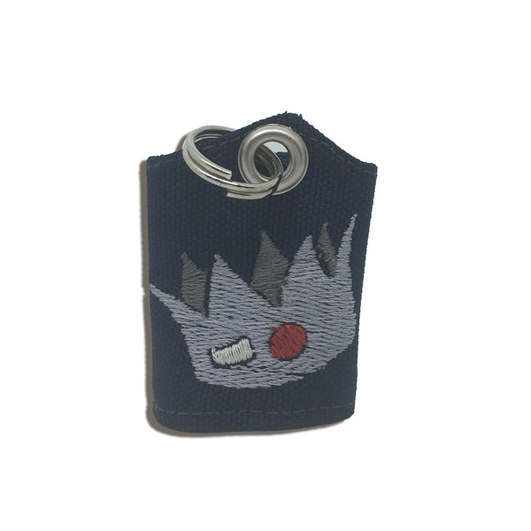 "Riverdale-inspired Jughead crown ""Tag Bag"" medal protector and silencer"