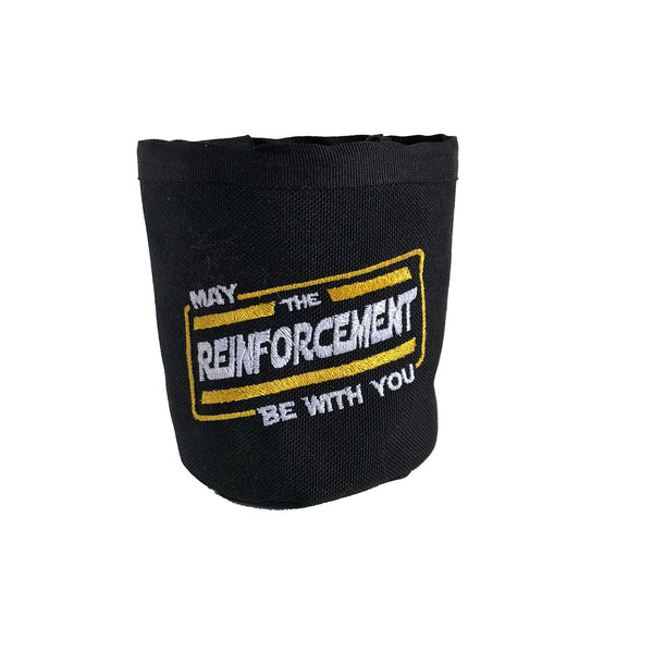 May the Reinforcement Be With You - Treat pouch and water bowl